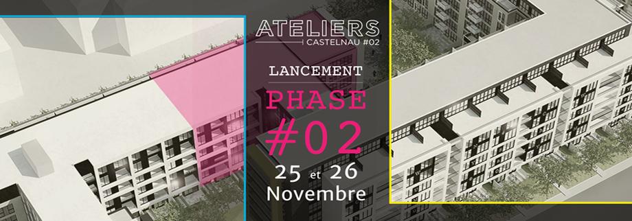 Lancement de l phase 2 de Ateleirs Castelnau