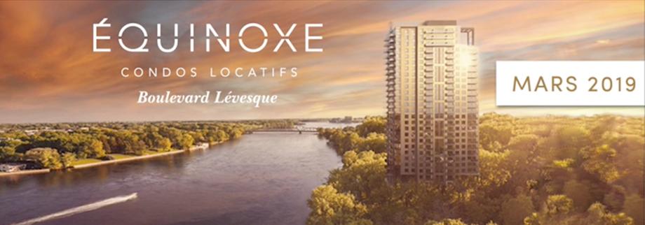 Condos Équinoxe à Laval disponible dès mars 2019