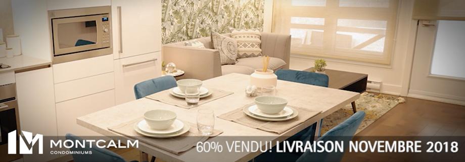 Le projet de condominiums Le Montcalm par Samcon, offre des espaces de vie luxueux et à un prix compétitif.