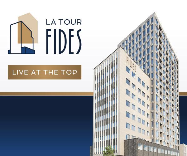La Tour Fides, live at the top