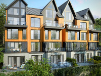 Condos Arborescence in Bromont with large terrace