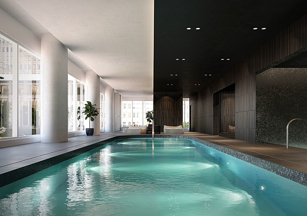 Indoor pool for swimming lovers of 1 Square Philips