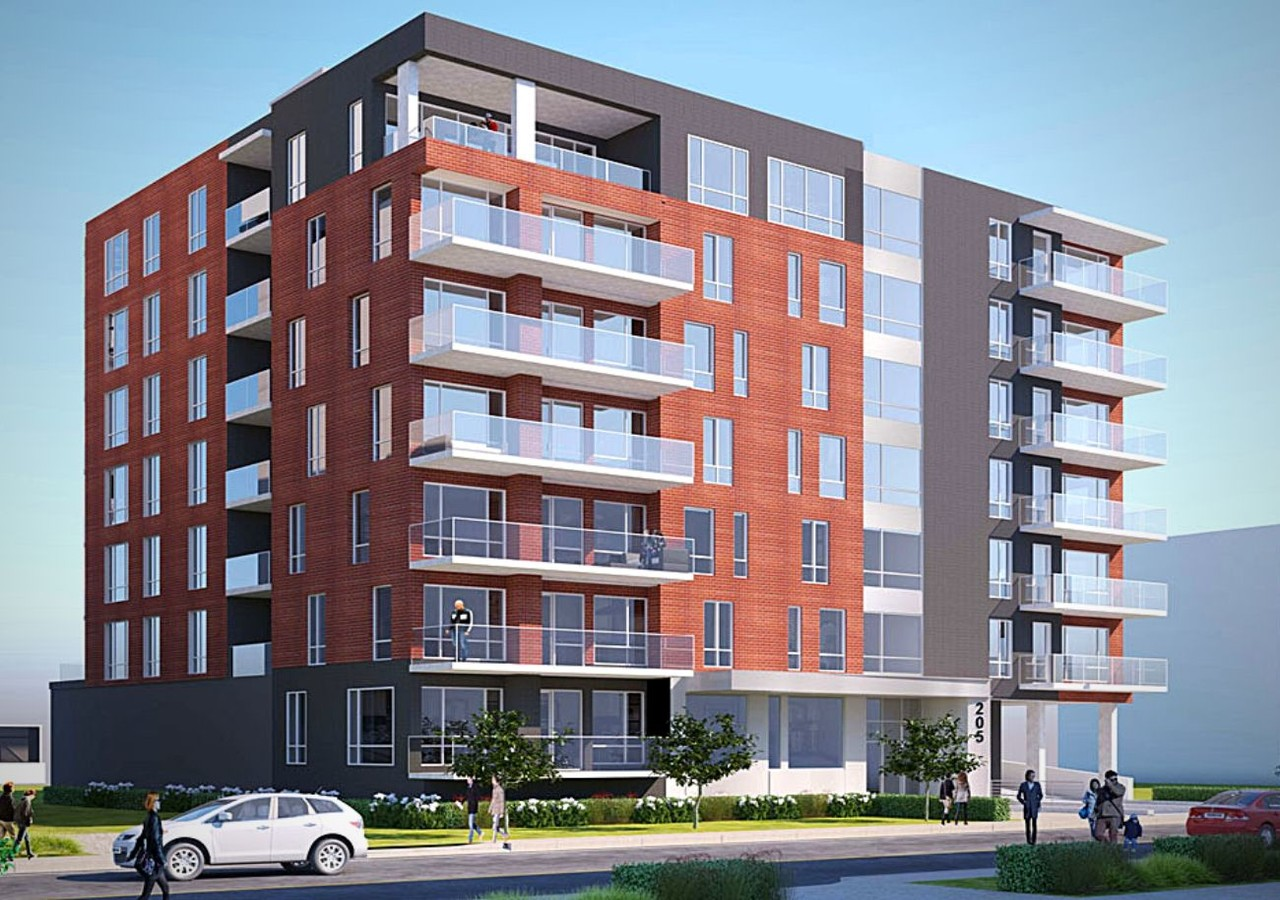 Building front of Orizon project phase 3