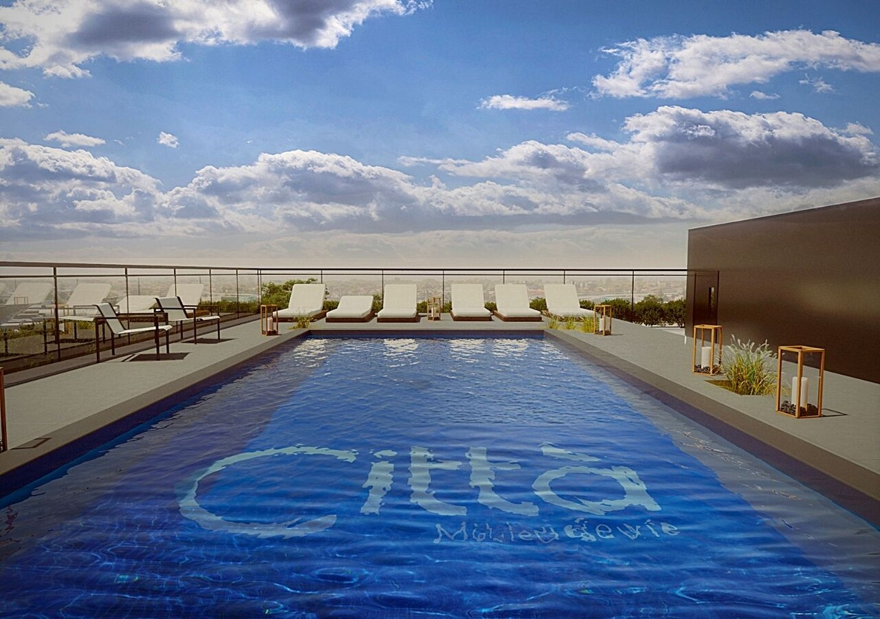 Città piscine sur le toit