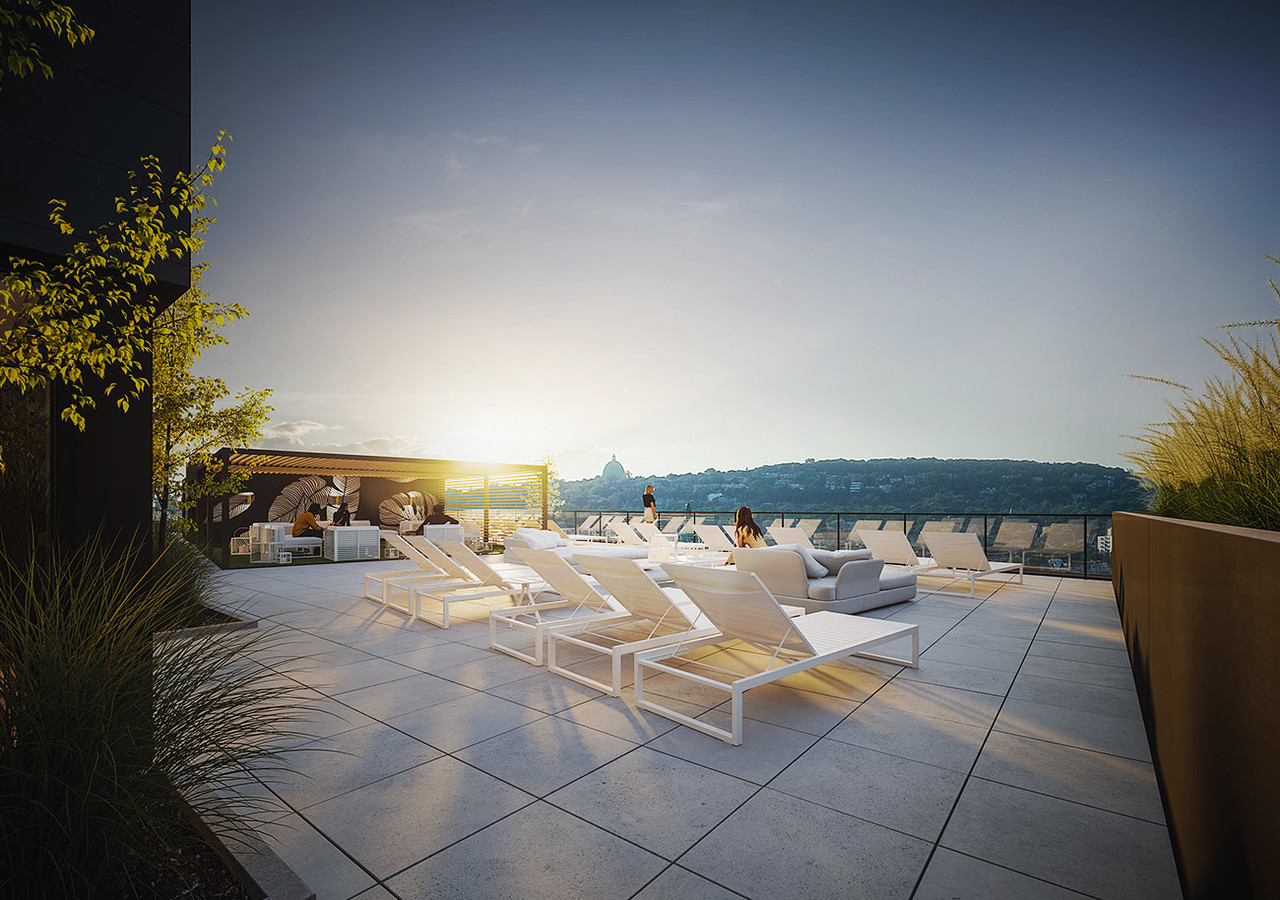 Wonderful rooftop terrace