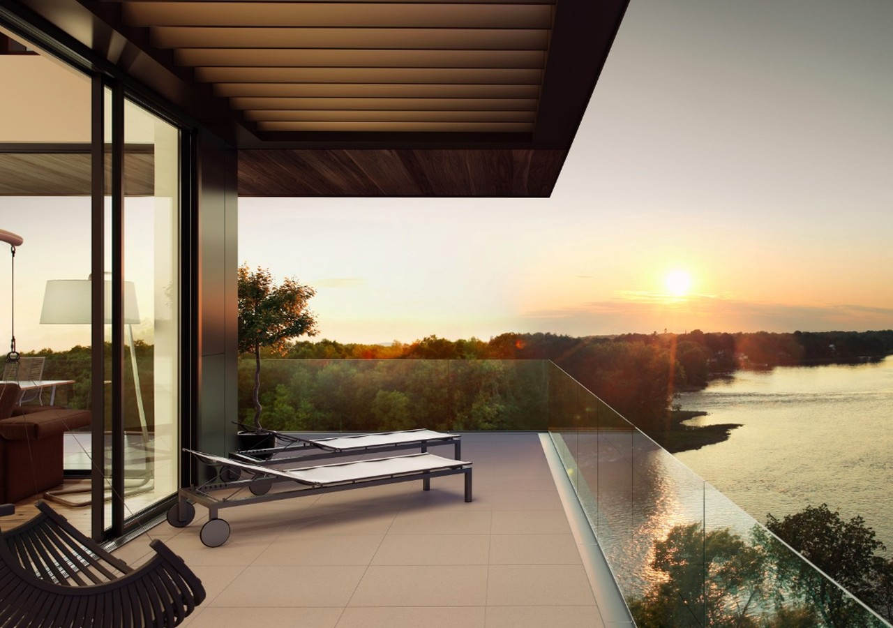 Terrace with a wonderfull view