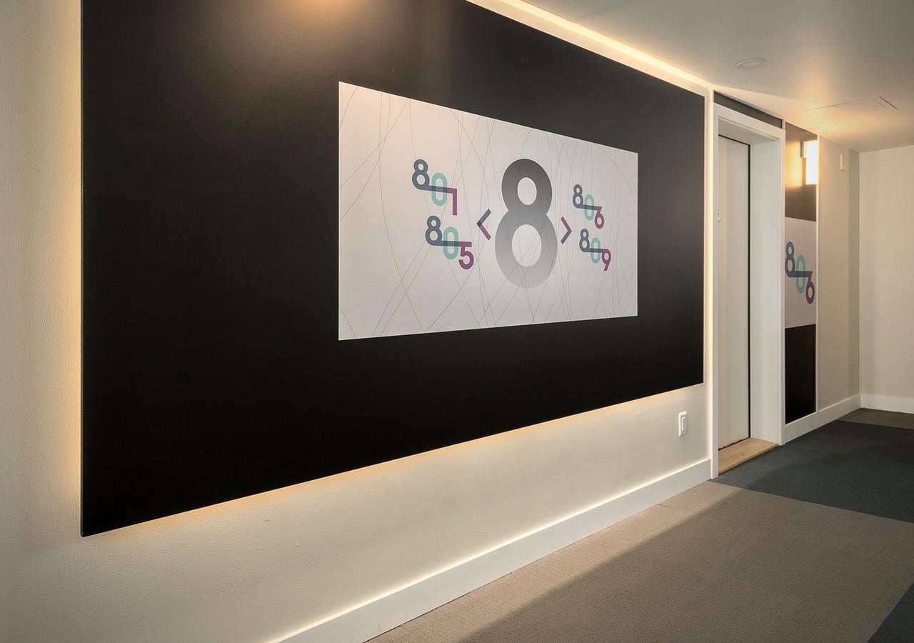 le neuf cent entry hall