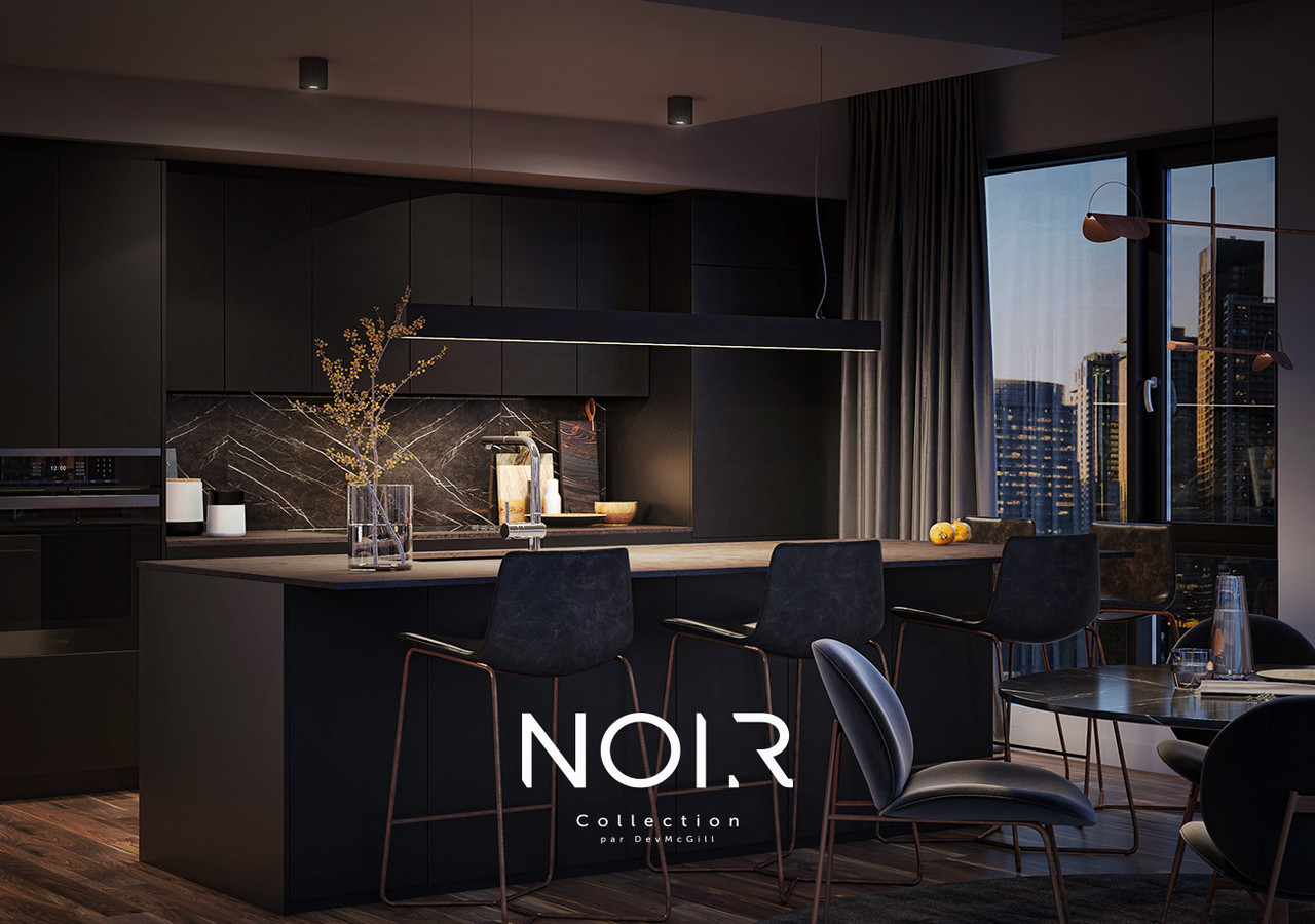 NOIR collection black kitchen