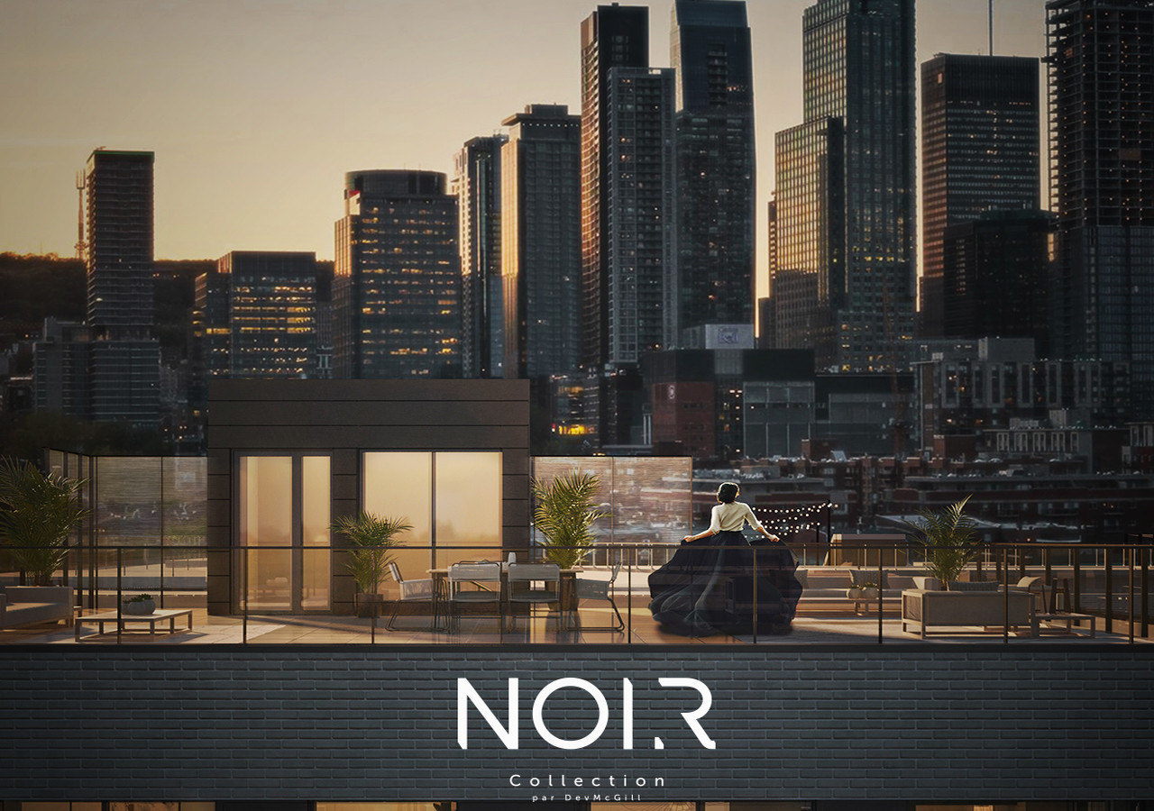 terrace and city collection noir