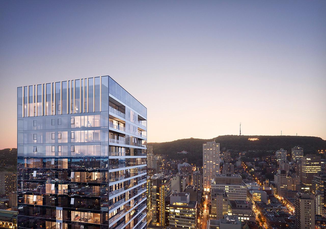 Perspective avec ville de Montréal