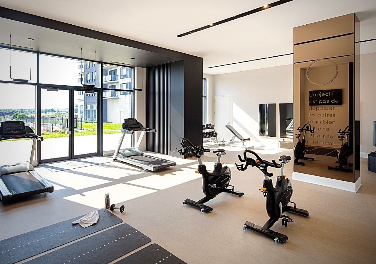 High-end sports and fitness club