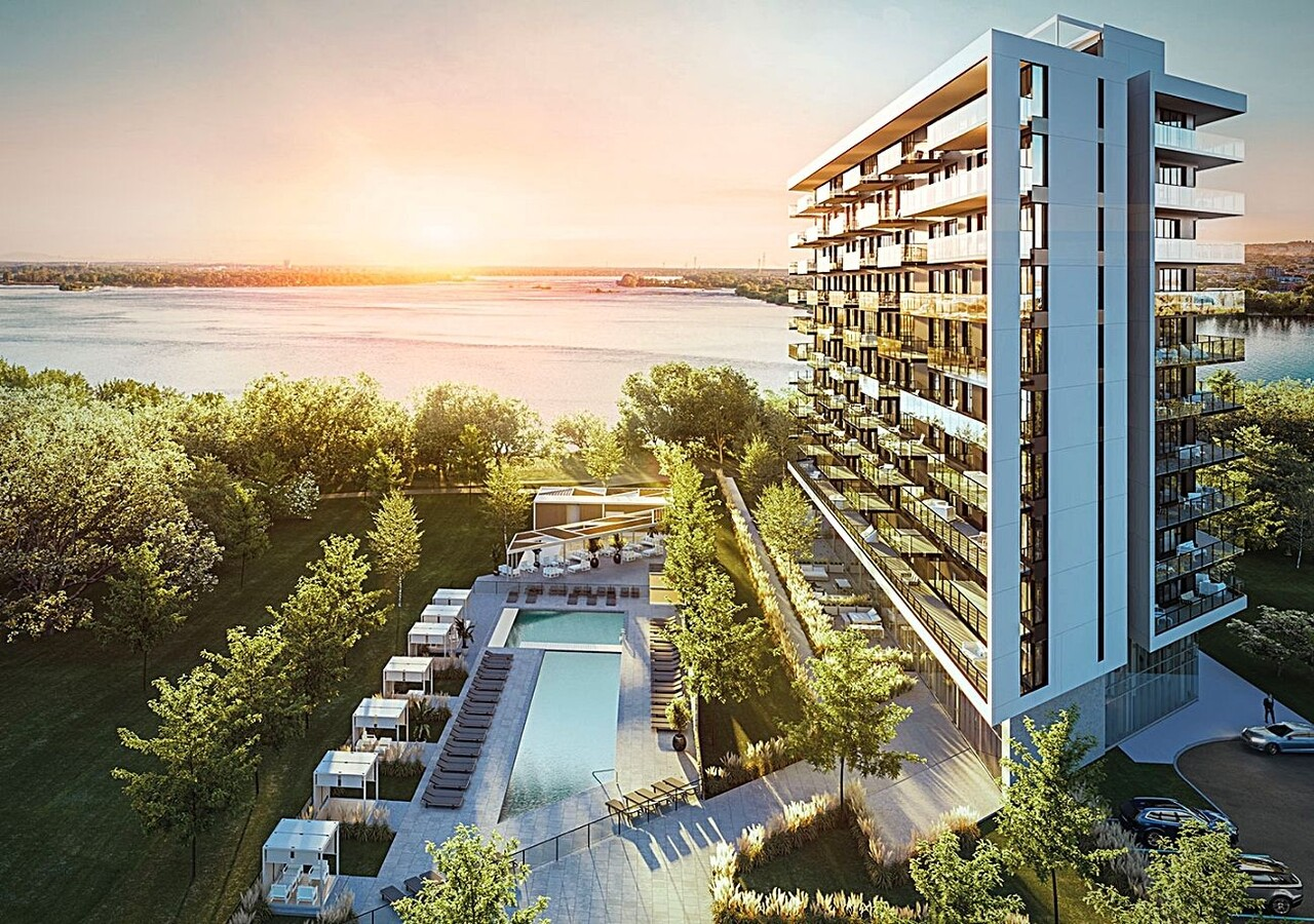 Symphonia Sol building with a view