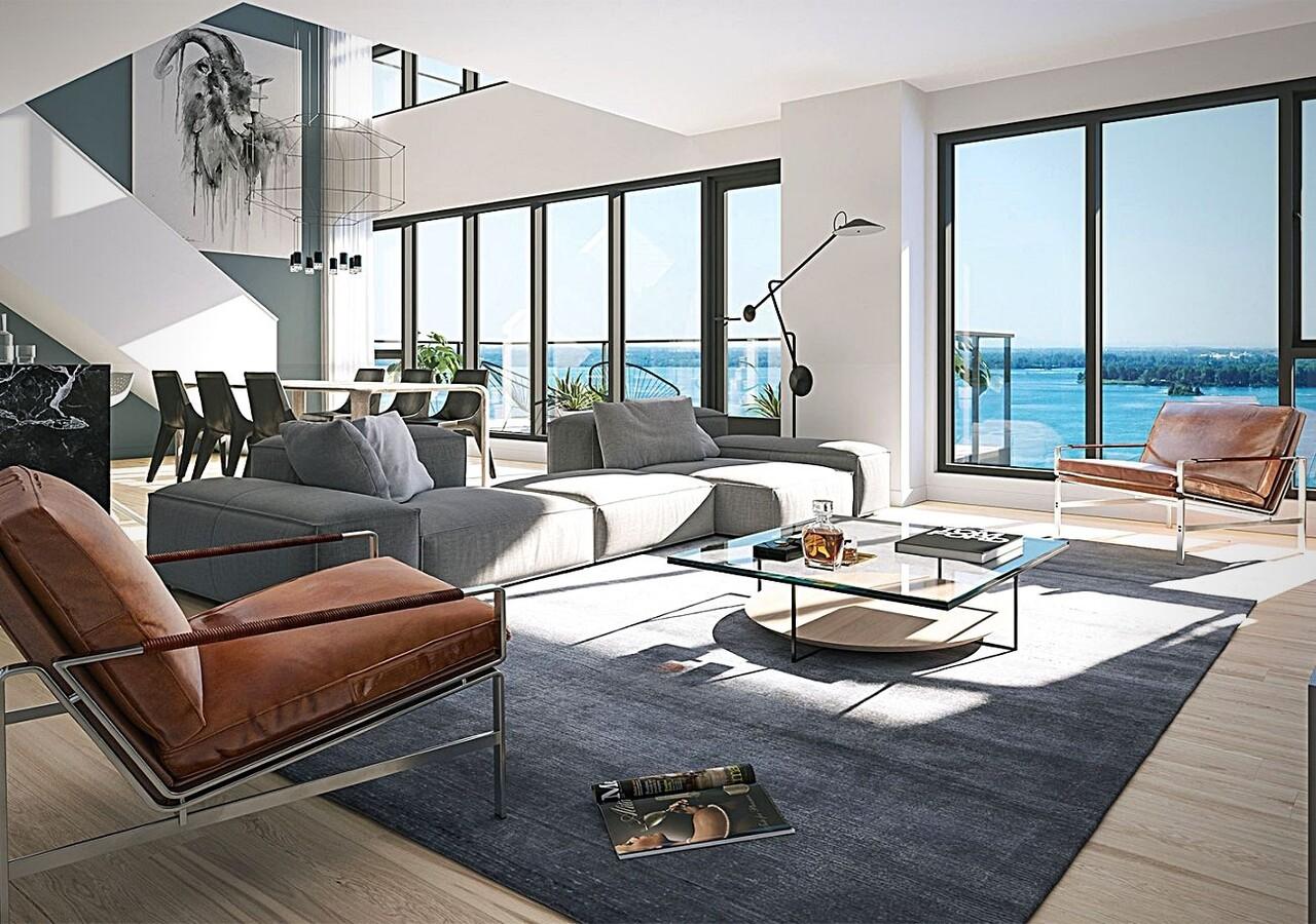 Symphonia Sol living room