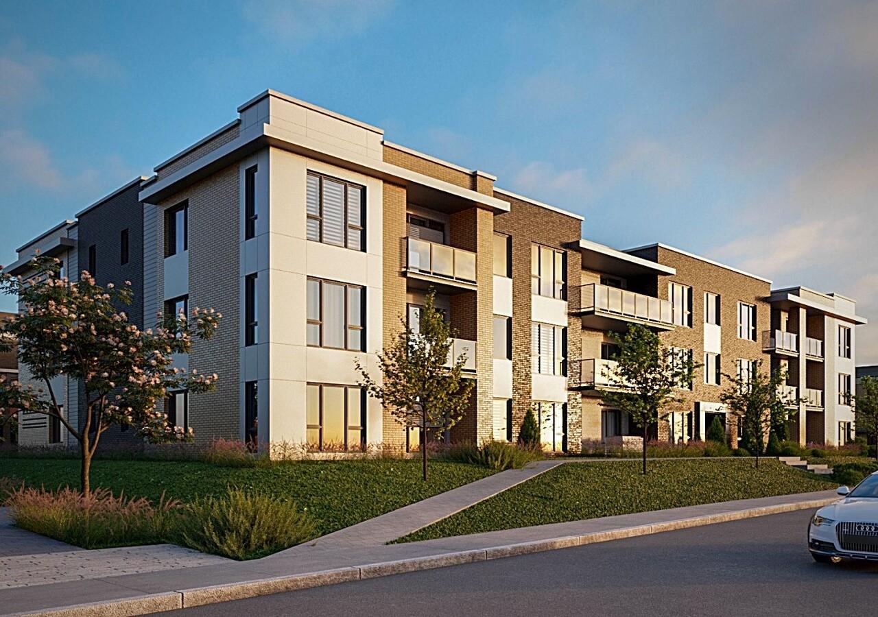 Three story building