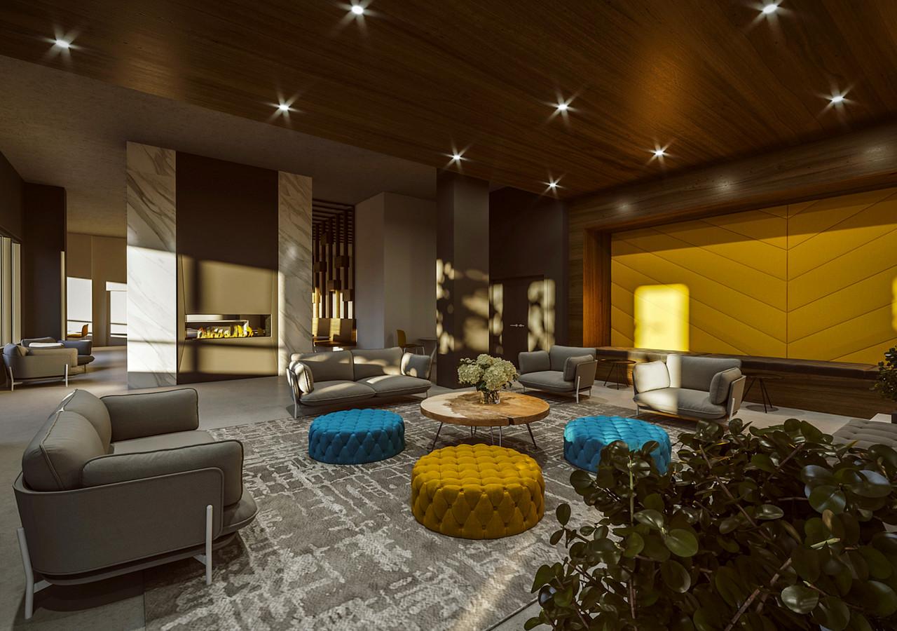 voltige apartements lounge