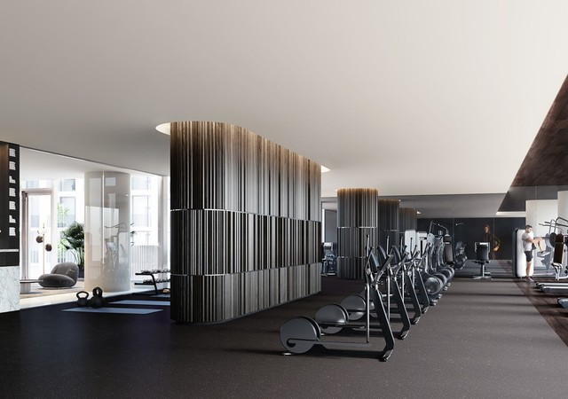 High technologie Gym of 1 Square Philips