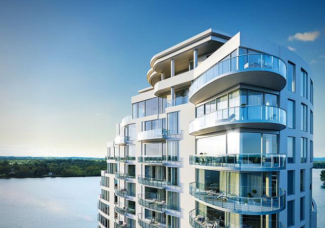 Penthouses with vast balcony