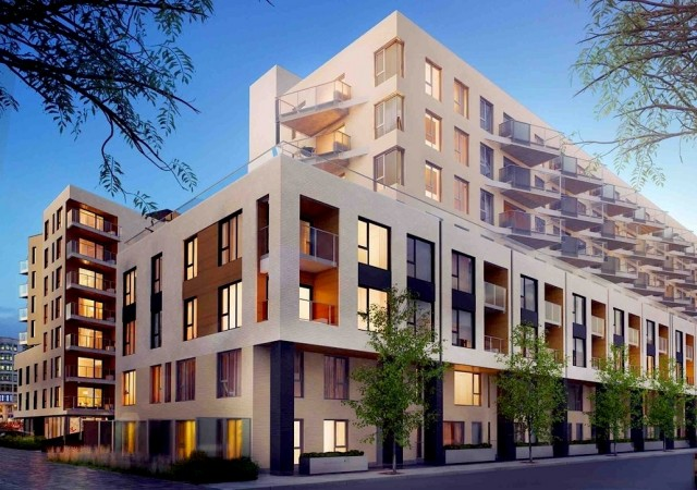 Arbora condos montreal for Meuble montreal griffintown
