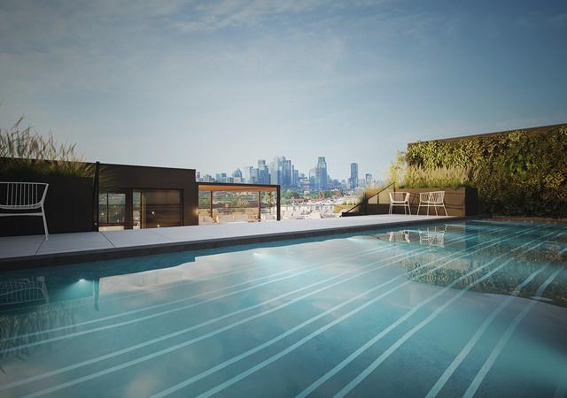 Swimming pool galdin