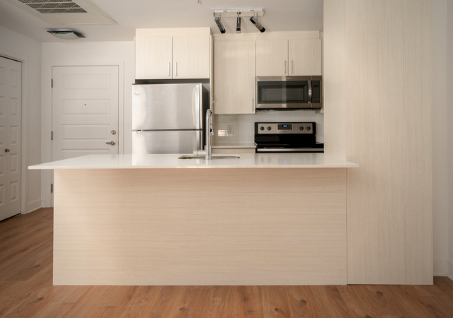 glo 2 white kitchen front view