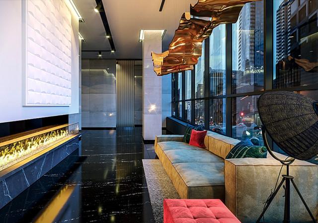 Humaniti condos lounge