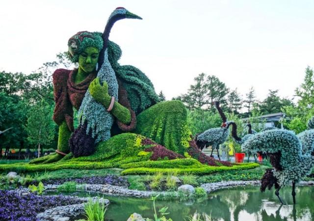 Oeuvre du Jardin Botanique de Montréal