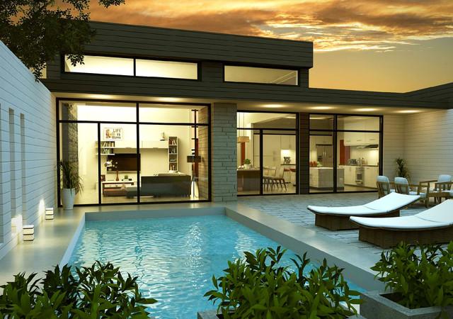maison kaya avec piscine