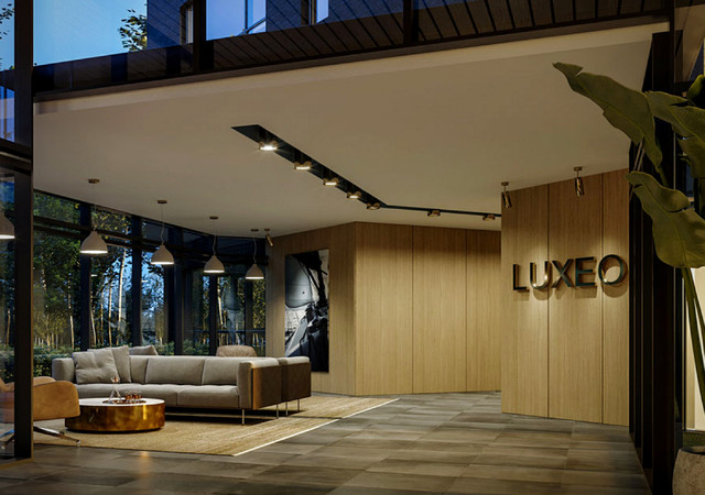 luxeo ile perrot lobby