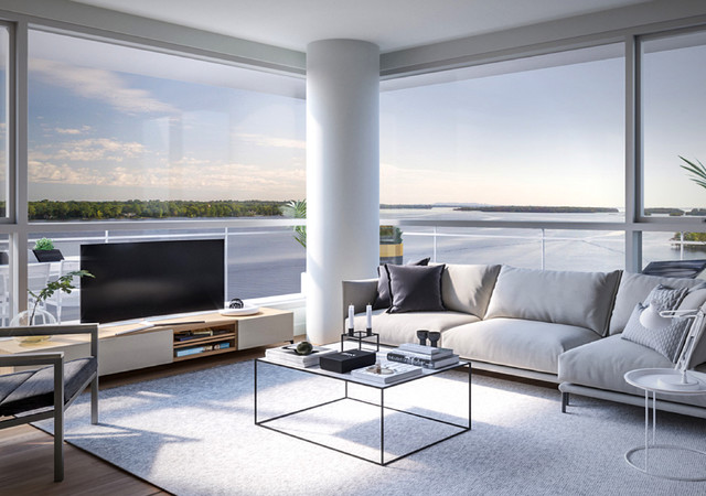 luxeo ile perrot living room