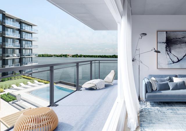 luxeo ile perrot terrasse