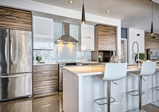 luxxcite mirabel kitchen area in one of the units