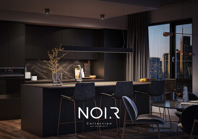 NOIR collection cuisine