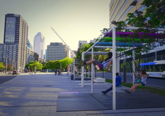 La promenade des artistes, Quartier des Spectacles