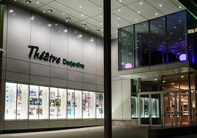 Vue sur le théâtre Desjardins