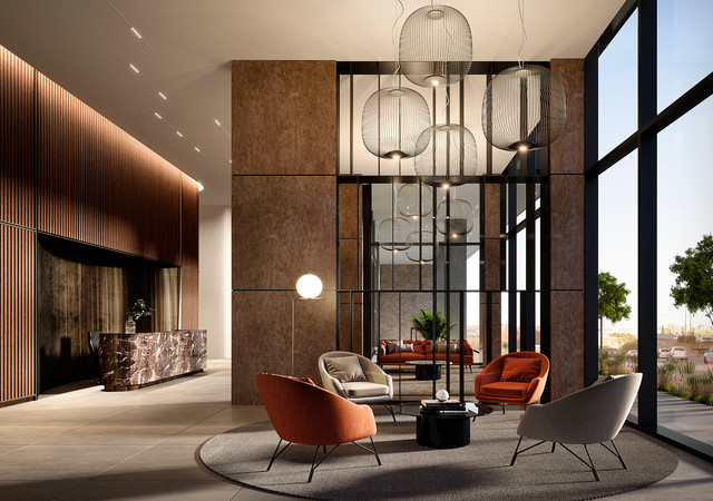 Lobby de marbre