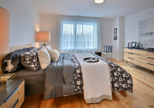 sofia condominiums spacieuse chambre à coucher