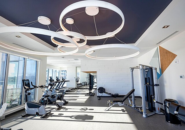 voltige appartements gym