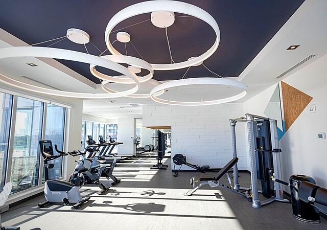 voltige appartements gym