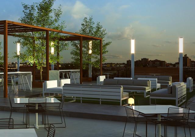 voltige apartements terrasse toit