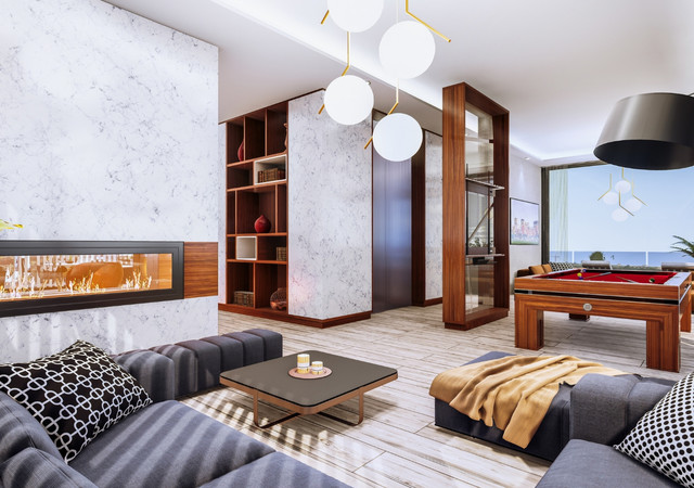 westbury condos  lounge