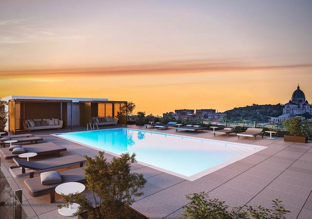 westbury condos la piscine au toit