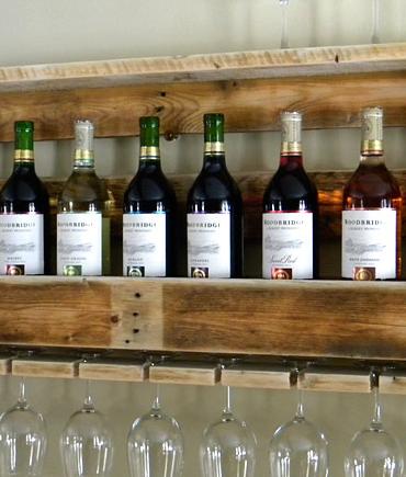 Rack à vins en pallet