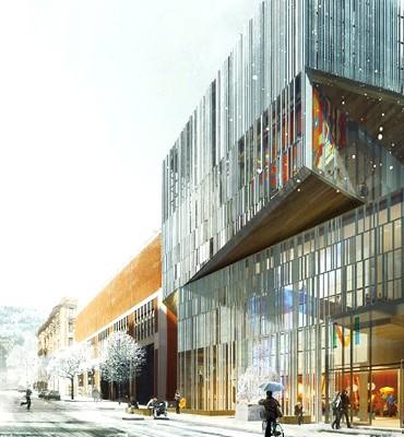 Cinquième pavillon du Musée des Beaux-arts de Montréal