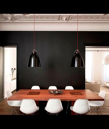 cuisine et mur noir