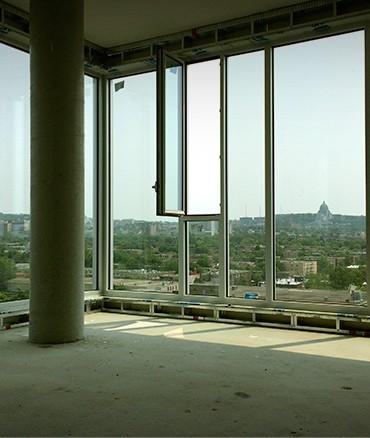 Vue du 13ième étage
