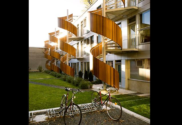 les escaliers de 4 arbres, Atelier Raouf Boutros Architecte