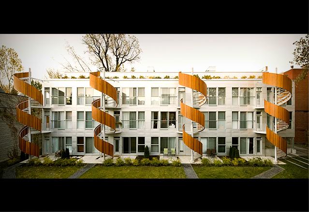 le projet 4 arbres, Atelier Raouf Boutros Architecte
