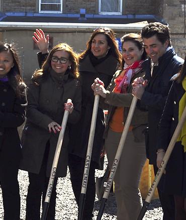 Équipe au lancement du Castelanu