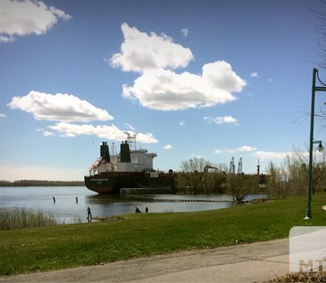 La vue du M Montréal Est