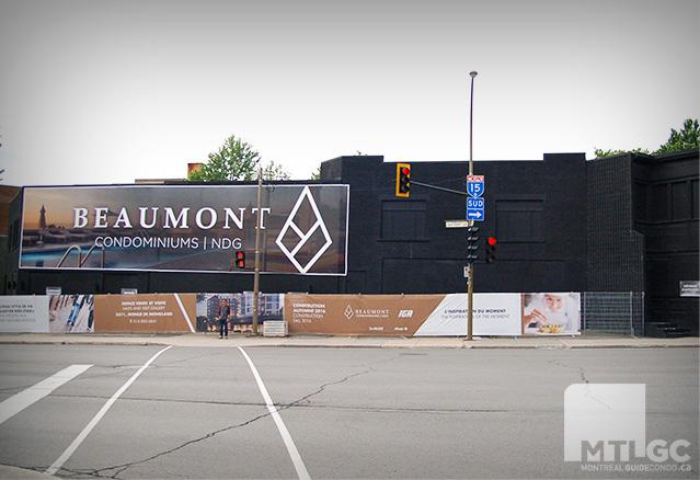 La construction du projet Beaumont